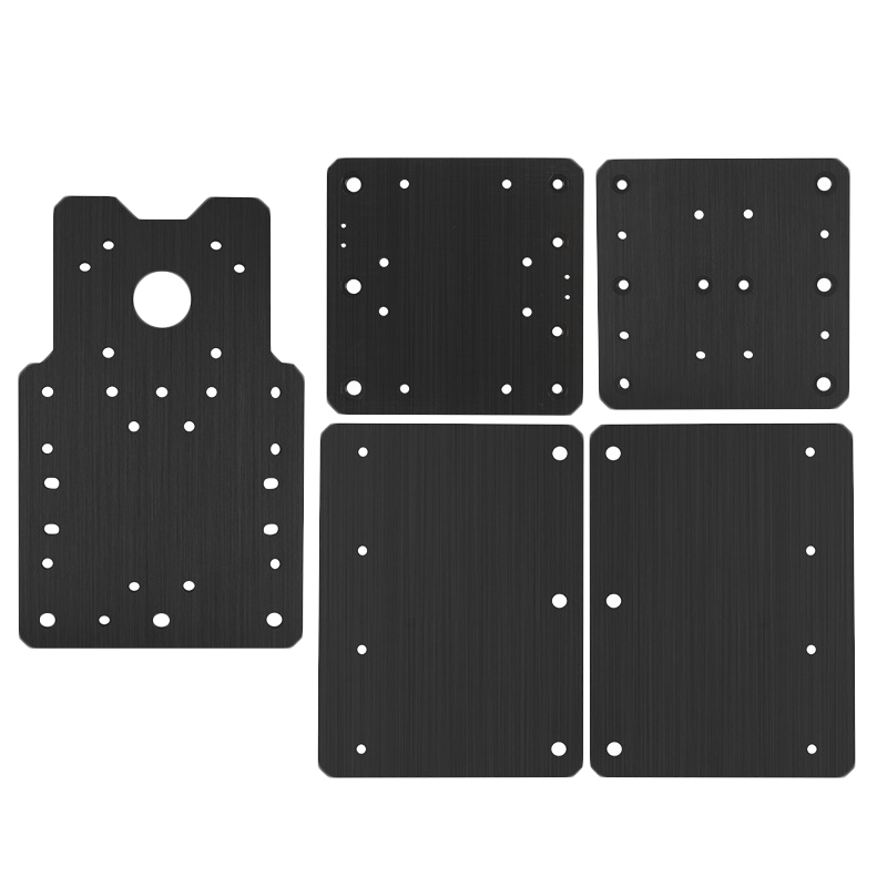 EASY-Cnc Engraving Machine Workbee Plate Set Building Plate Xyz Shaft Mounting Plate For Openbuilds