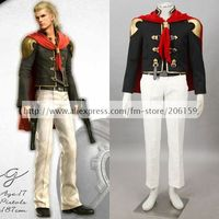 Anime Final Fantasy Type 0 King Cosplay Costume Men Suit Halloween Costumes King Cosplay Male Cosplay