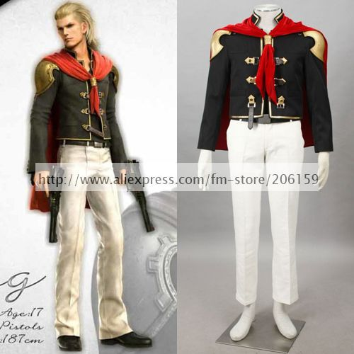 Anime Final Fantasy Type-0 roi Cosplay Costume hommes Costume Halloween Costumes roi Cosplay mâle Cosplay