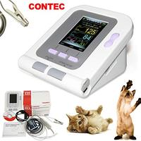 CONTEC08A VET Digital Veterinary Blood Pressure Monitor NIBP Cuff,Dog/Cat/Pets with Neonatal Cuff& Vet spo2 Probe