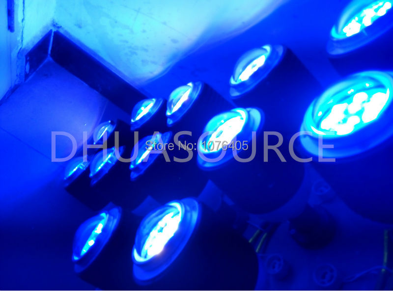 50 W CREE XTE lumière LED d'aquarium bleu blanc aquarium éclairage récif plante blubs pour poissons marins corail récif lumière LED