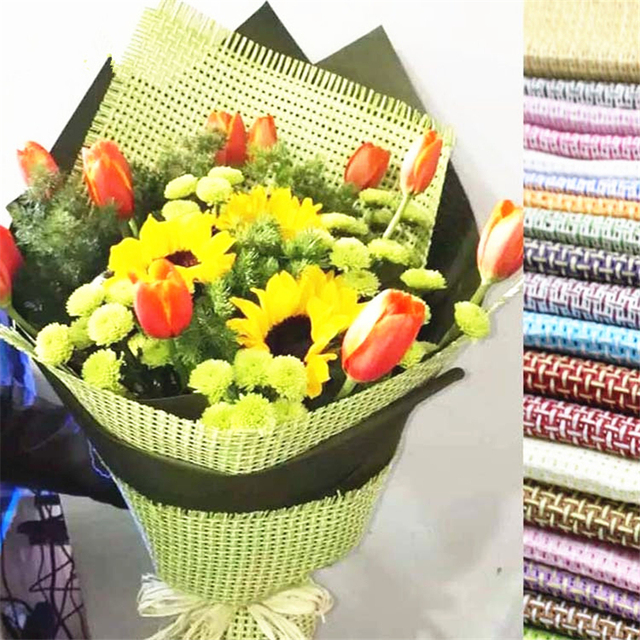 5sheet Hemp Cotton Linen Fabric Flower Shop Supplies Wrapping ...