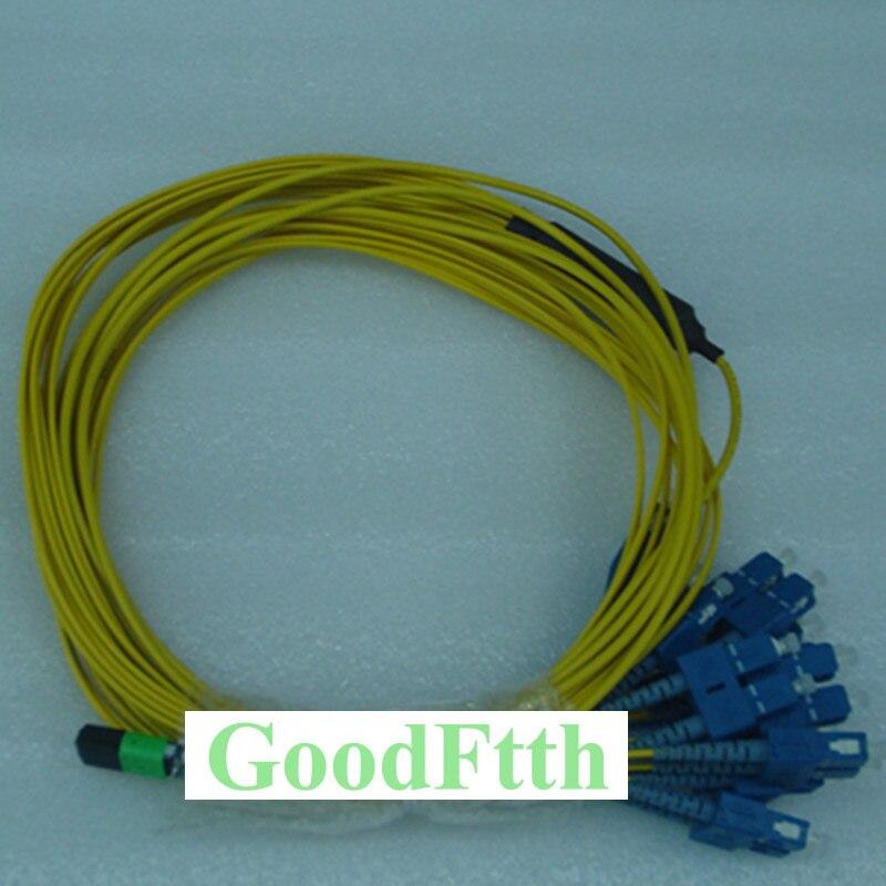 24 Core Fiber Patch Cord Jumper Cable MPO-SC/UPC SM  GoodFtth 20-50m24 Core Fiber Patch Cord Jumper Cable MPO-SC/UPC SM  GoodFtth 20-50m