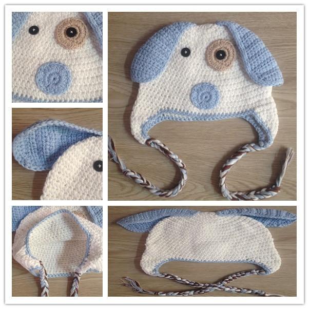 2015 NUEVO hecho a mano del bebé del ganchillo gorro para niño 4ed15b876bb