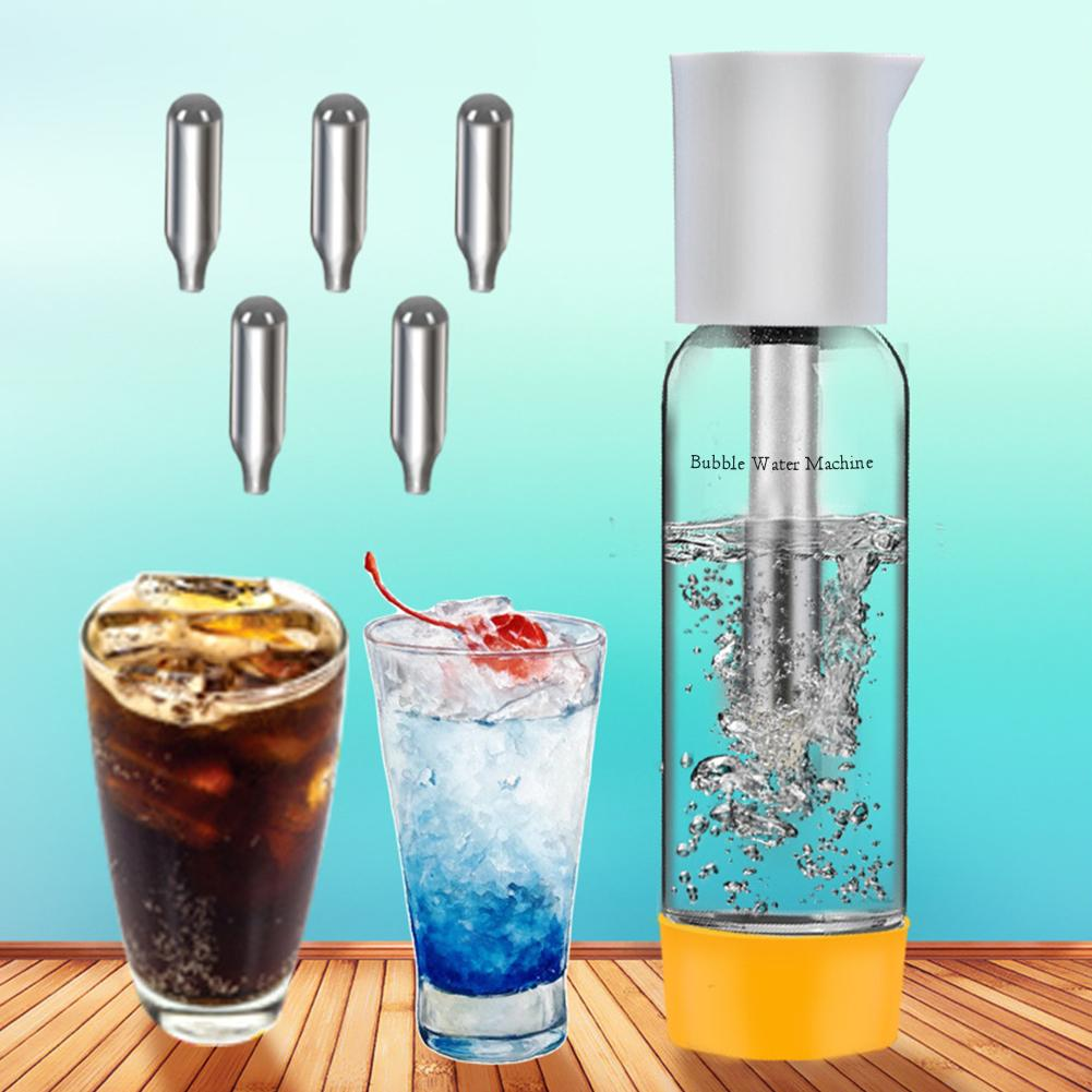 Sparkling Water Maker Soda Maker 1000ml Cold Drink Carbonated Bubble Water Machine DIY Cocktail CO2 Soda