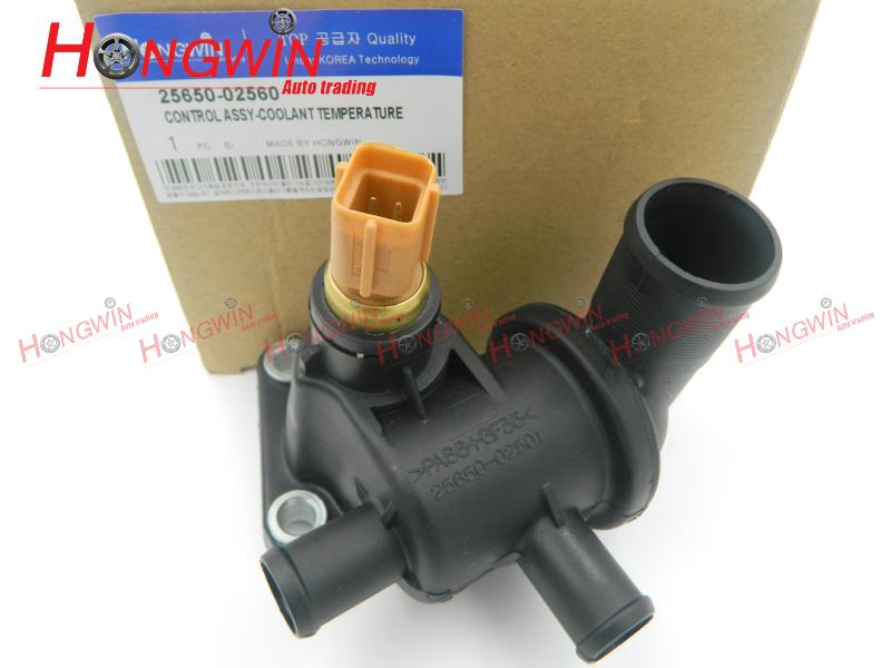 OEM NO:25650 02560 Thermostat Housing Fits KIA Picanto SA 04-10 New Morning 2565002560,25650-02501,2565002501