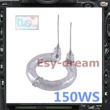 150WS lampa błyskowa pierścień do włosów żarówka do Godox Godox K180A K150A 160 120 Oubao Jinbei ładne studio fotograficzne lampa błyskowa oświetlenie stroboskopowe
