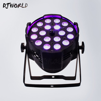 Hot Sales 18X12W Stage Led Par Light Zoom Function 15 45 Degree 5/10 CH Smooth Dimmer RGBW 4 Colors Changing New Design