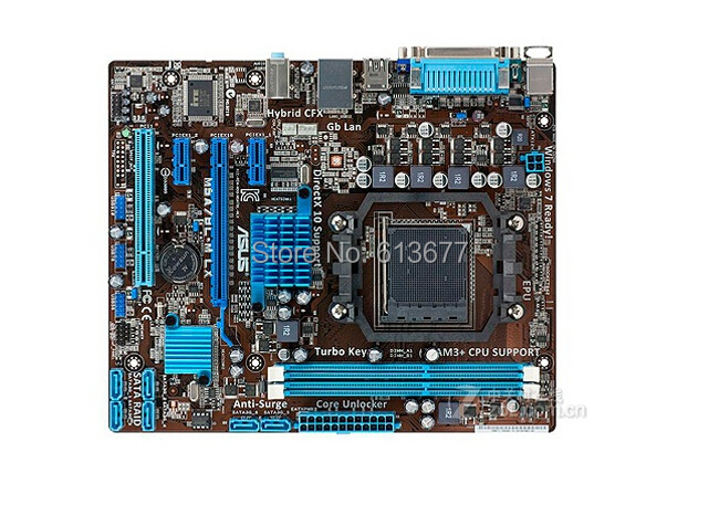100% original Free shipping motherboard ASUS M5A78L-M LX DDR3 AM3/AM3+ RAM 16G free shipping free shipping 100