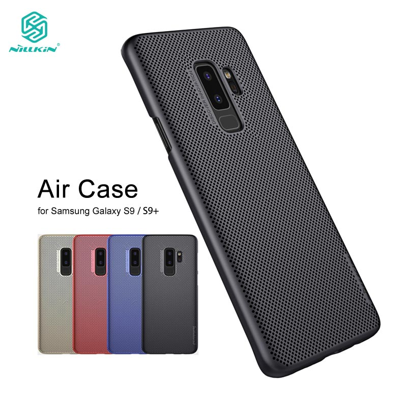 Nillkin Case for Samsung Galaxy S9 Plus Lightweight Heat Release Dissipation Phone Cover sFor Samsung S9 Plus Case Cover