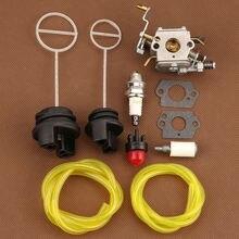 Replace parts Carburetor Kit For Poulan PP5020AV PP5020 PP5020AVX Chainsaw Engine Fuel Filter Durable Convenient