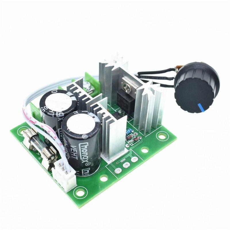 12V-40V 10A Pulse largeur PWM DC moteur contrôleur de vitesse externe