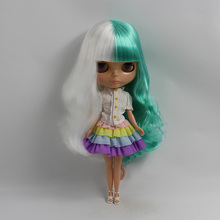 Factory Neo Blythe Doll Mint White Hair Regular Body 30cm