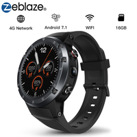Zeblaze THOR 4 Plus Smart Watch Waterproof GPS Wifi Android Smartwatch SIM Heart Rate Call Reminder for IOS for Android Phone