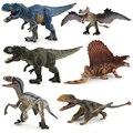 Nuevo dinosaurio Jurásico de juguete figura de acción de plástico dinosaurio modelo de aprendizaje de animales simulación educativa juguetes para niños # E