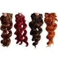 1PCS 15CM Doll Wigs SD BJD Doll Hair High-temperature Wire Handmade Doll Curly Hair