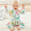 Macacão de bebê Outono Bebê Recém-nascido Roupas de Algodão Da Criança Do Bebê Roupas Meninas Roupa Infantil Macacões Primavera Conjuntos de Roupas de Bebê Menino