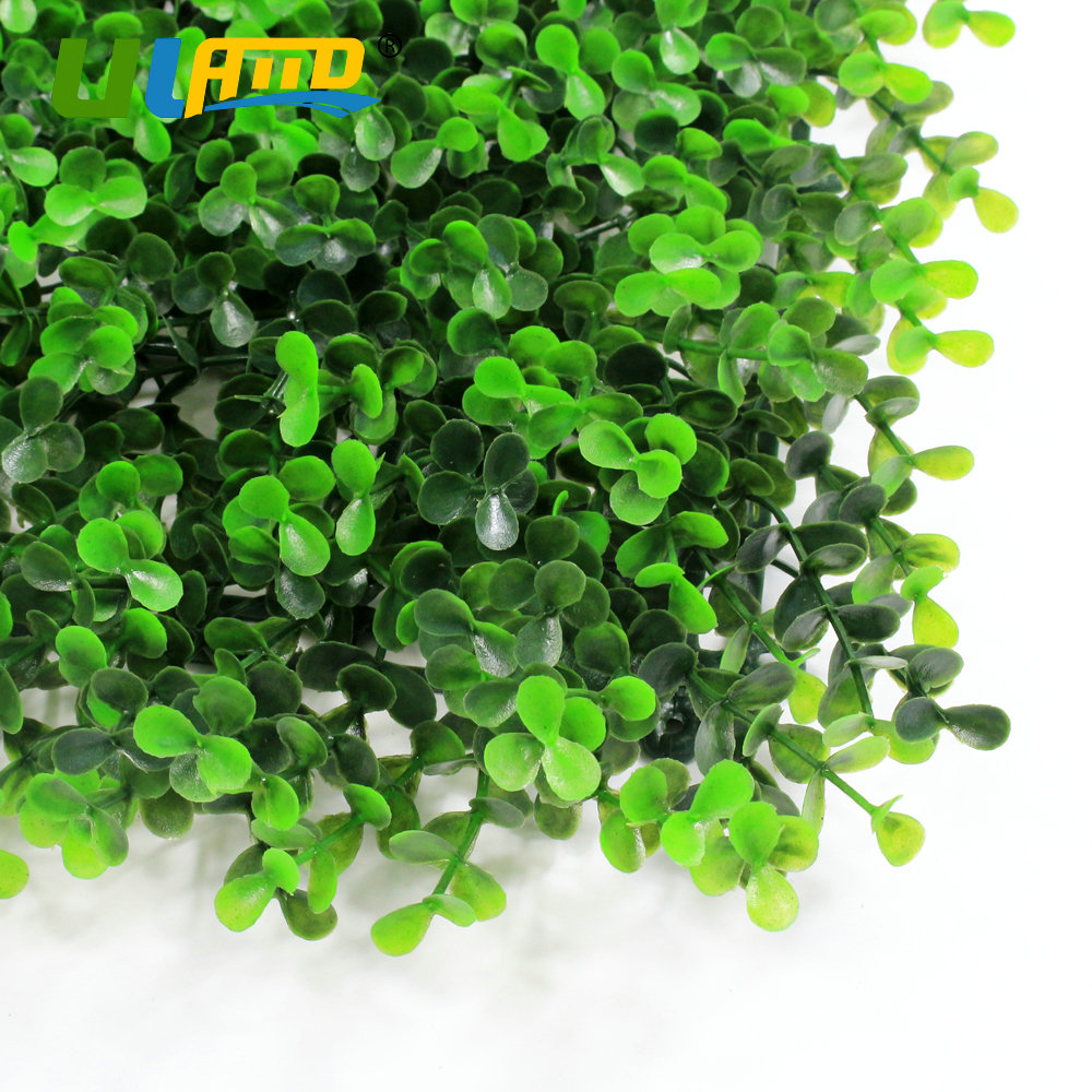 Screening fence panels promotion shop for promotional screening uland plastic light green plants panels garden decoration artificial booxwood hedge wall covering privacy screening 50cmx50cmpc baanklon Choice Image