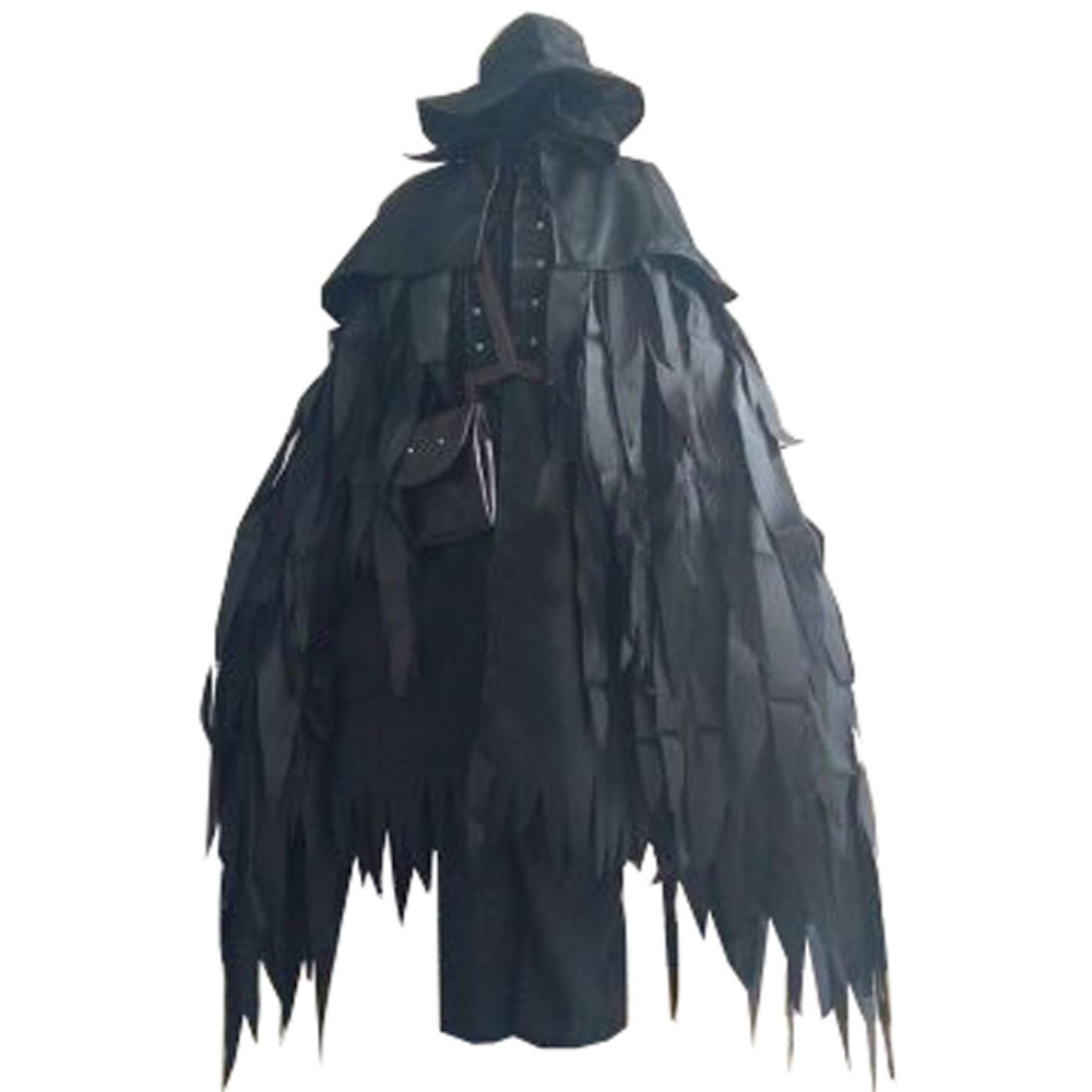 2018 Bloodborne Gehrman The First Hunter Eileen The Crow Uniform Cosplay Costume Custom Made Any Size