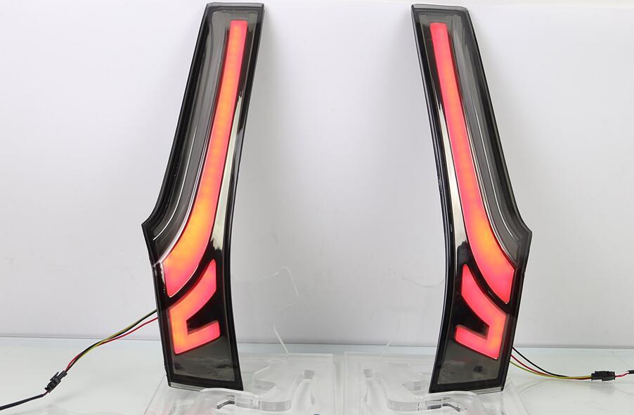 цена на eOsuns LED rear light brake lamp driving light for Honda jazz 2014 2015, low bright and high bright 2 ways, 4 versions
