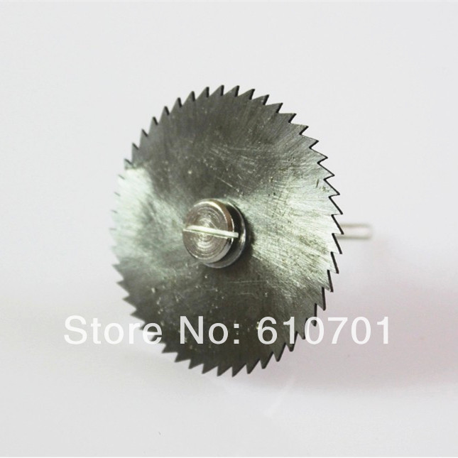 22/25/32/35/44/50mm HSS Saw Blades Cutting Wheels Discs Mini Rotary Tools With One 3.175mm Mandrel Electric Grinder Milling