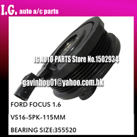 Auto AC Compressor For Ford for Focus AC Clutch spare parts VS16 12V Grooves PV5 Pulley Diameter 115mm Bearing Size 355520