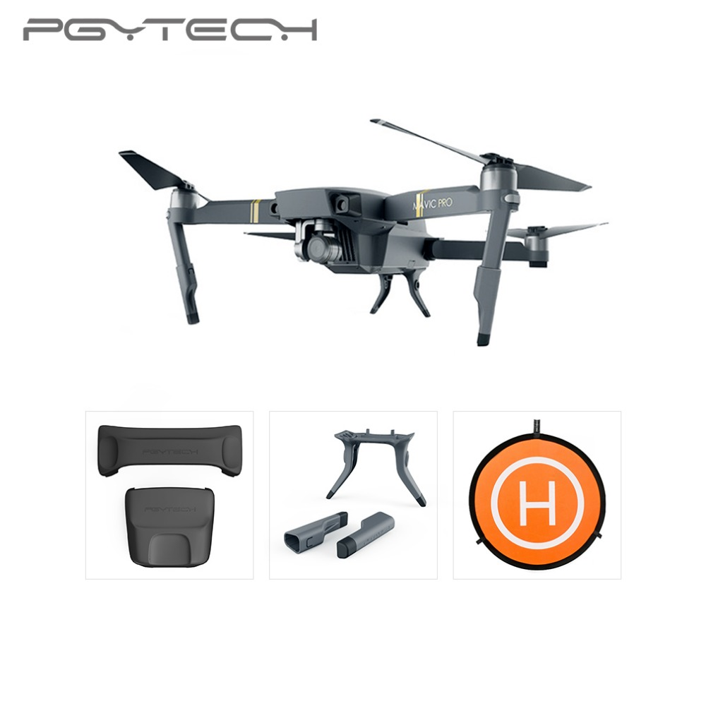 for DJI Mavic Pro Landing Bracket Gear Protection 3pcs PR Aircraft Accessories