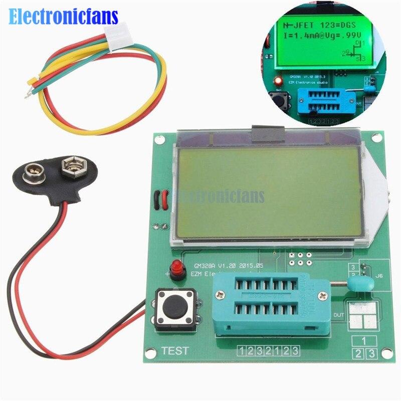 New Arrival Component GM328A Transistor Tester Graphic Wave Signal LCR\RLC\PWM\ESR High QualityNew Arrival Component GM328A Transistor Tester Graphic Wave Signal LCR\RLC\PWM\ESR High Quality