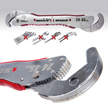 Bulk Price adjustable magic wrench Multi-function wrench tool Universal wrench home Hand tool 9 to 45 mm Free Shipping