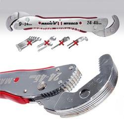 Precio a granel magia ajustable Multi-función de herramienta de la llave de llave Universal llave herramienta de Mano en casa 9 a 45mm Envío gratis