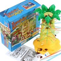tumbin monkey Funny board game party Game hot Plastic Stick for children adults competition toy