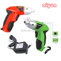 4 8V Rechargeable Electric Screwdriver Small Drill Driver Cordless Sleeve Power Tools Cordless Drill