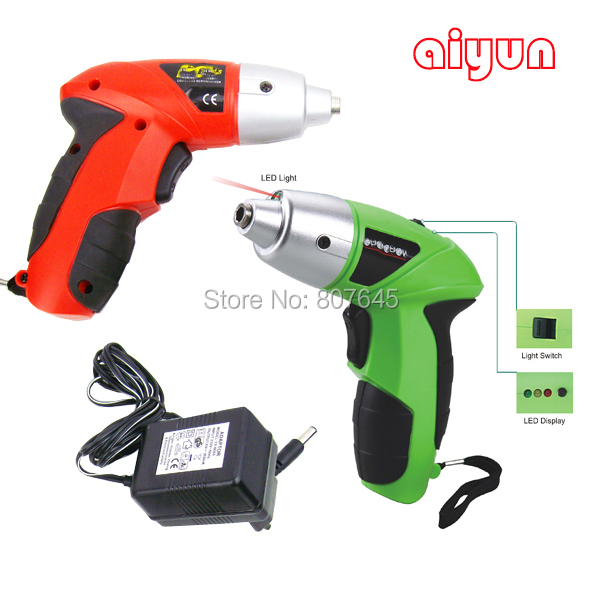 4.8V rechargeable/electric screwdriver /small Drill/Driver Cordless sleeve Power Tools cordless drill electric drill mini small cordless electric rechargeable screwdriver 4 8v 180rpm 20pcs screwdriver bits 3pcs drill for home use diy tools