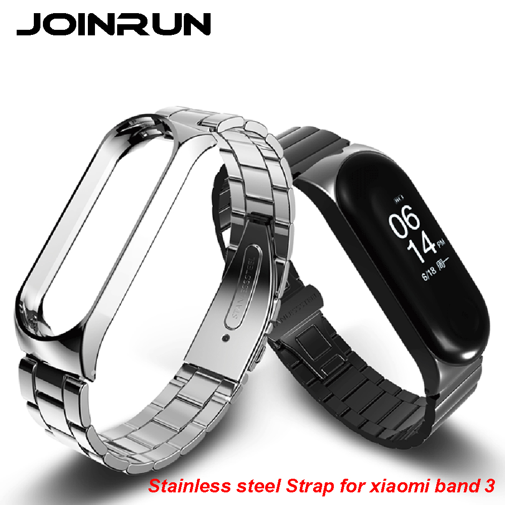 Bracelet for Xiaomi Mi Band 3 Miband 3 Strap Screwless for Xiaomi Mi Band 3 Strap Metal Stainless Steel MiBand 3 Wrist Band Belt цена