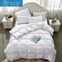 SHIDANDA New Winter Quilts 70 Duck Down Duvet Comforter Thicken Eiderdown Comforter White Bedding King Size