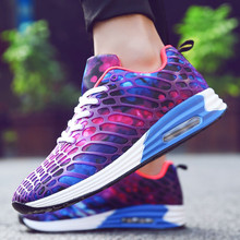 Couple shoes Mesh Breathable Air Cushion Sneakers Lightweigh