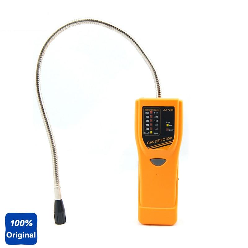 Handheld Propane Test Gas Leakage Tester Methane Gas Leak Detector AZ-7201 az7201 portable sensitive combustible gas detector handheld propane gas leakage tester methane gas leak detector