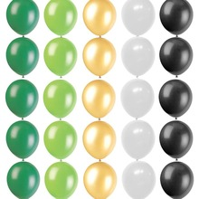 25pcs Jungle Party Latex Balloons Decoration  Summer Tropical Lanterns Safari Shower Decor