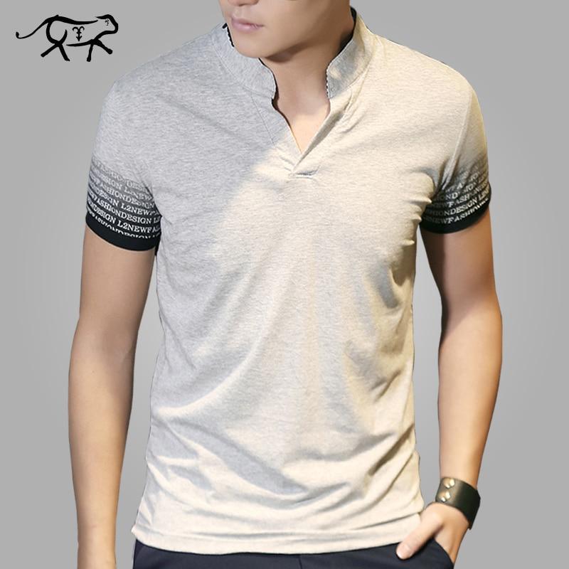 New Arrival   t     shirt   Men Fashion Summer Men's   T  -  shirt   Cotton V Neck tshirt Male Tee   Shirt   Man Short Sleeve Tops Tees Homer 4XL