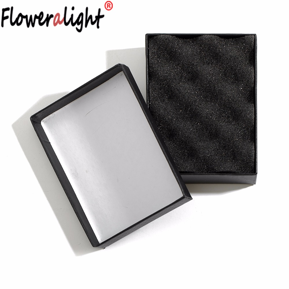 Floweralight Fine Jewelry Decorate Box Gift Necklace Earrings Ring Boxes 22*5 CM Packaging Christmas Valentine Gifts Box 6L1