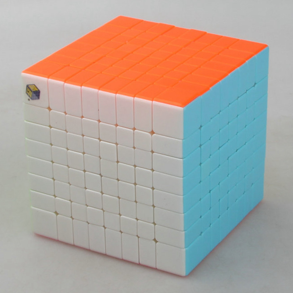Yuxin zhisheng Huanglong Stickerless 8x8x8 Magic Cube Speed Puzzle Game Cubes Educational Toys Gifts for Kids Children verrypuzzle clover dodecahedron magic cube speed twisty puzzle megaminx cubes game educational toys for kids children