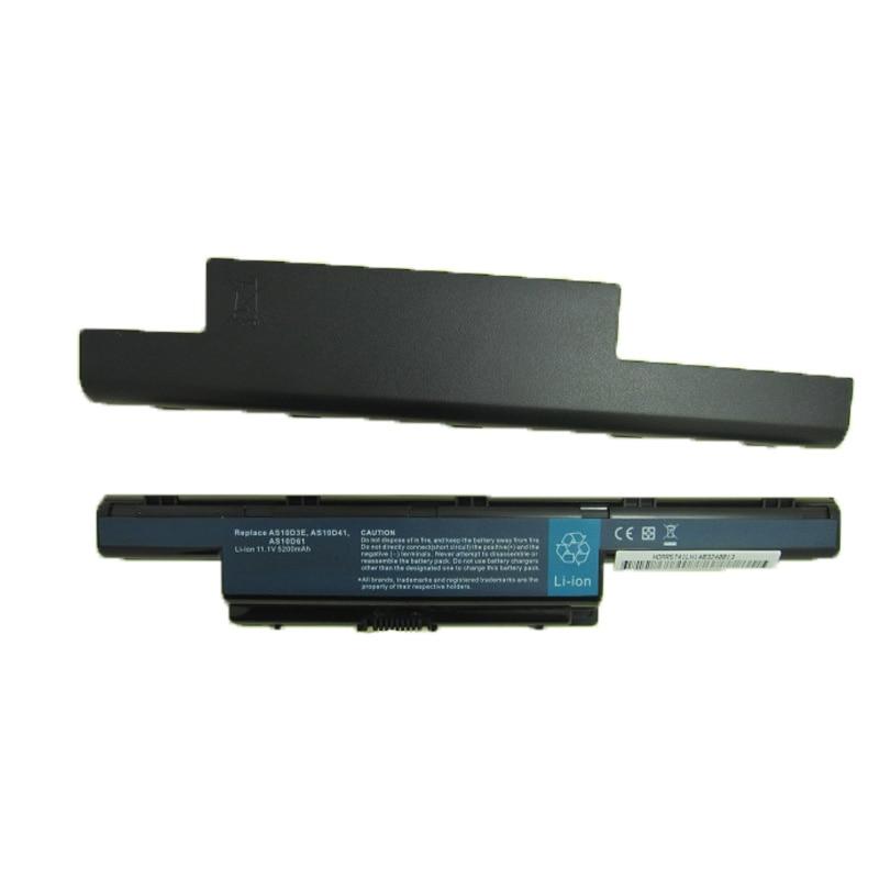 Baterias de Laptop as10d31 as10d3e as10d41 as10d51 as10d61 Bateria Label Capacidade : 5200mah