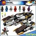Совместимость Legoe Ninjagoes Ультра Стелс Raider 70595 Строительного Кирпича Ниндзя Фигура Игрушки Для Детей