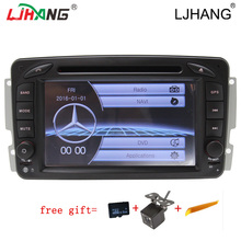 LIHANG 2 din 7 Inch font b Car b font DVD Player For Mercedes Benz W209