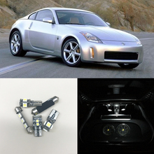 2003 nissan 350z interior. 6000k white led interior package kit for nissan 350z 20032008 map trunk cargo area license plate lights carstyling source 2003 350z o