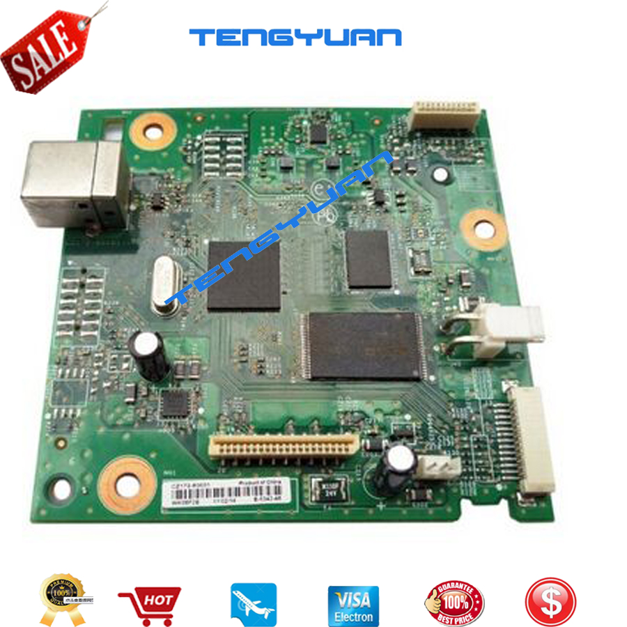 95% new  Original  LaserJet CZ172-60001 Formatter Board For HP LaserJet Pro M125a M126a M125A M125 126 125 Mainboard logic board formatter pca assy formatter board logic main board mainboard mother board for hp m775 m775dn m775f m775z m775z ce396 60001