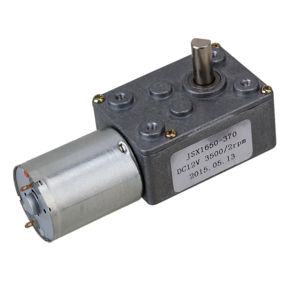 DC 12V 2RPM Square Low Speed High Torque Turbo Worm Geared Motor Right Angle Gear Motor high torque turbine gear dc motor gw370 dc 12v 0 6rpm 2rpm 5rpm 8rpm 13rpm 24rpm 45rpm 65rpm 80rpm 120rpm right angle gearmotors