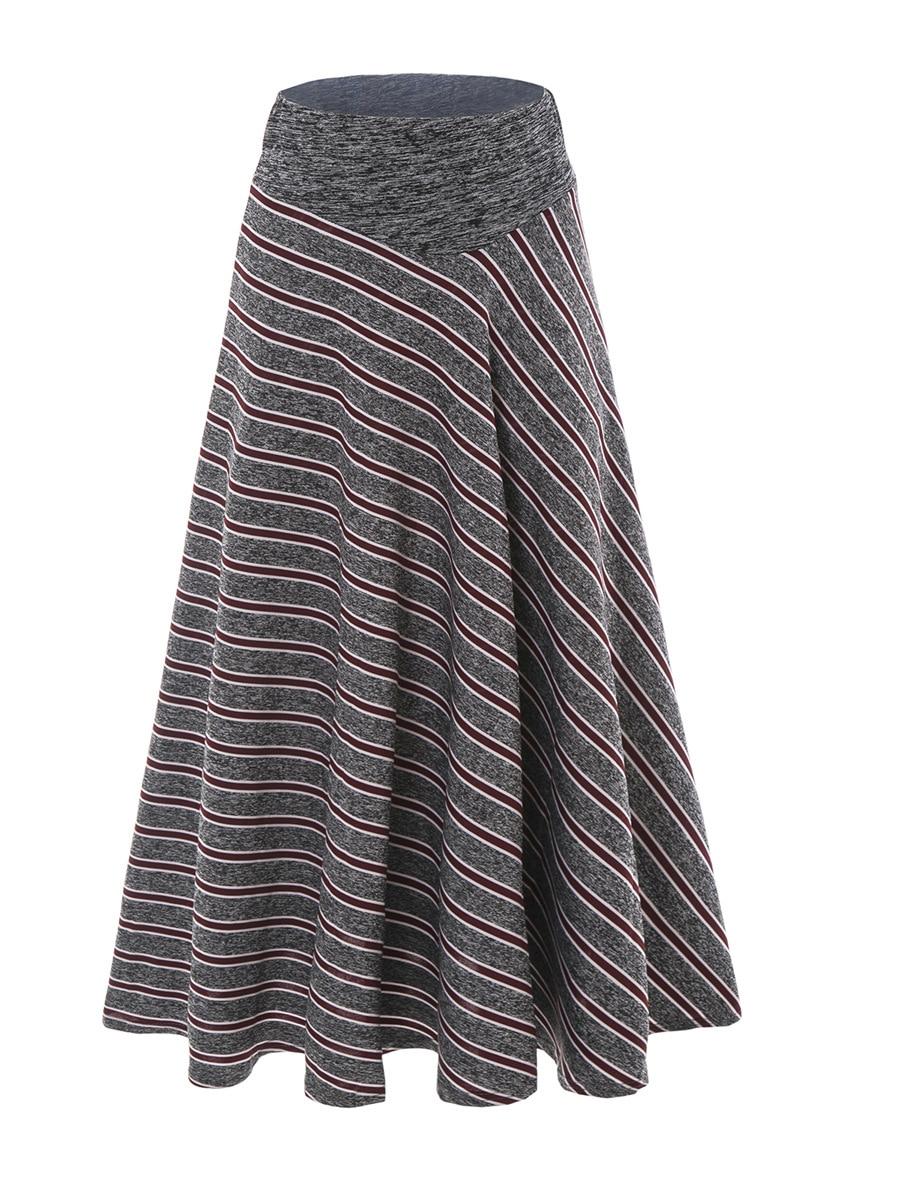 Popular High Waist Wine Grey Skirt-Buy Cheap High Waist Wine Grey ...