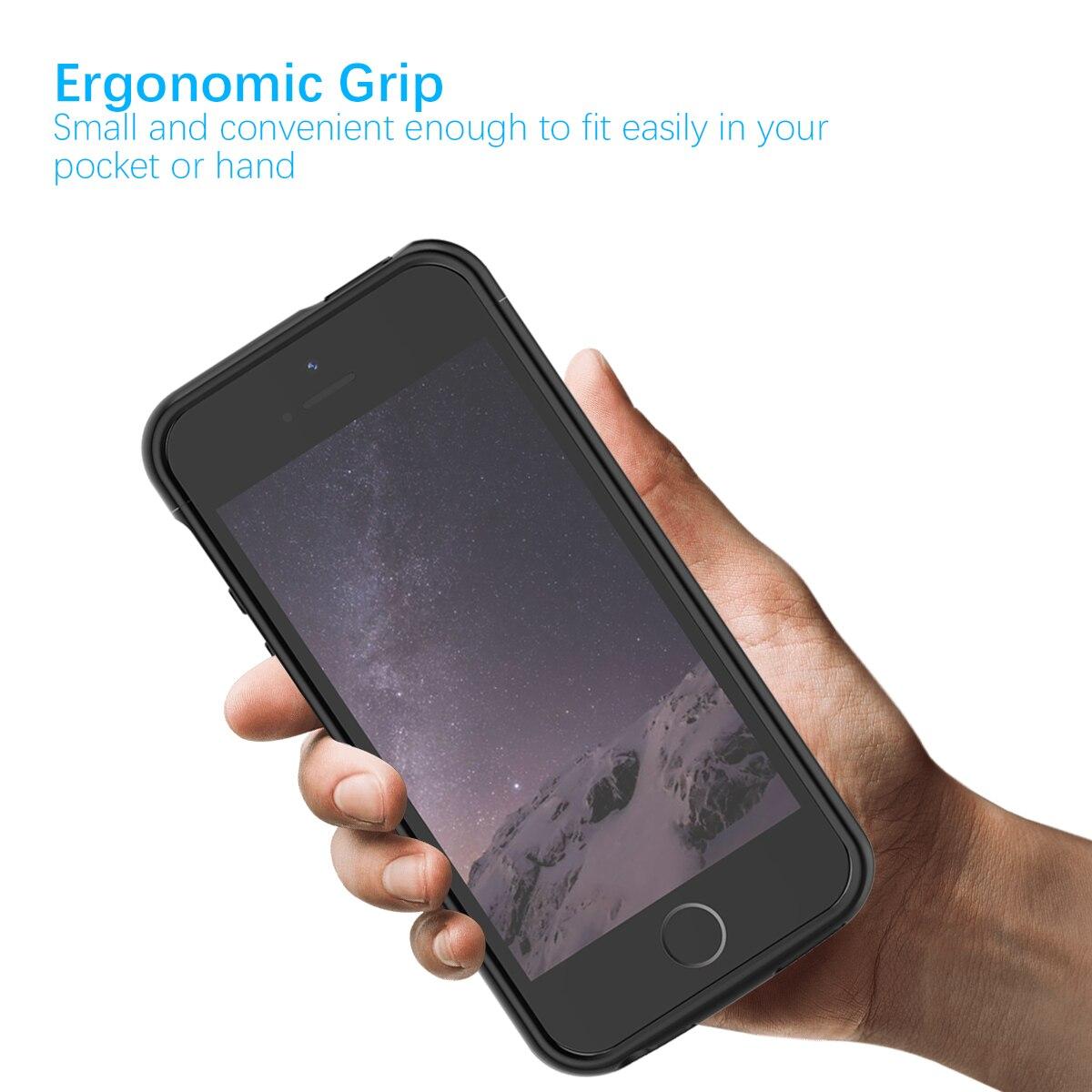 Image 3 - IPhone 11 SE 5 5S 배터리 충전기 케이스 4000mAh 외부 전원 은행 충전 커버 iPhone XS 7 8 plus 6 6S 배터리 케이스배터리 충전 케이스전화기 & 통신 -