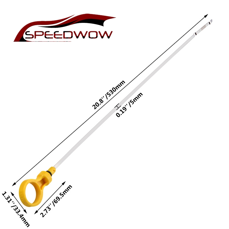 SPEEDWOW Engine Oil Dipstick Fluid Level Dipstick Tool Car